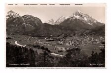 Germany - Mittenwald, Panorama - 1936 Postcard