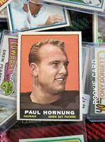 1961 Topps Set Break # 40 Paul Hornung NR-MINT
