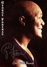 George Foreman Boxen orig sign Autogrammkarte mit Unterschrift AK TOP NEU 568 UH