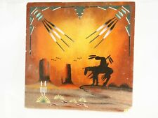 """Navajo Sand-Painting  by A. Nackai 12"""" x 12"""""""