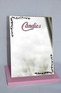 Candie's Mirror Optical Store Display Display AUTHORIZED DEALER