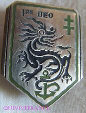 IN8257 - INSIGNE 1° Brigade d'Extrême Orient, en argent, 26 mm
