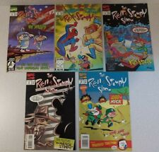 The Ren & Stimpy Show Lot Of 5 Marvel Comics, 5,6,7,8, &18, 1980