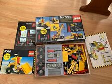 VTG Lego Technic 8040 Pneumatic Builders Set original box and instructions 85%