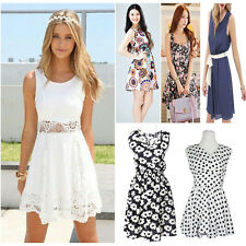 2015 New Sexy Printed Women Dress Girl's BALL DRESS Pleated Sun Dress Gifts