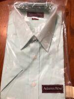 Adams Row Vintage Short Sleeve Dress Shirt 15 1/2 Men's.