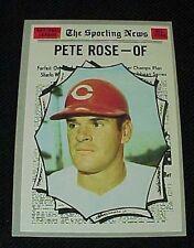 1970 Topps #458 Pete Rose All Star Cincinnati Reds Sporting News