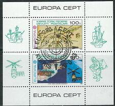 Türkisch Zypern - Werke des menschlichen Geistes gest. 1983 Bl. 4 Mi. 127/28