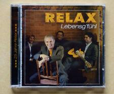 Relax CD  Lebensg`fühl   25 Jahre Relax  Ariola 2006 gebraucht m-