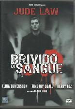 Brivido di sangue (1998) DVD