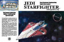 Fine Molds Star Wars JEDI STARFIGHTER w/Ring 1/72~SW03