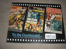 VINTAGE HOLLYWOOD 2 B CONTINUED MOVIE POSTER BOOK 126 COLOR MOVIE PRINTS RARE