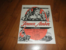 FOREVER AMBER Movie Promo AD-1947-Original Magazine Print