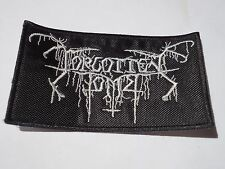 FORGOTTEN TOMB EMBROIDERED LOGO BLACK METAL PATCH