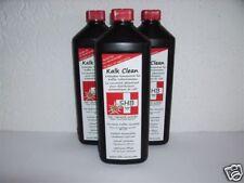 3 X 1 Liter Flasche SHB Swiss Kalk Clean Entkalker geeignet für alle Modelle