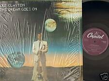 LEE CLAYTON THE DREAM GOES ON 1981 cellophane LP MINT