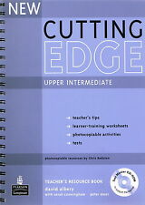 Longman NEW CUTTING EDGE Upper Intermediate Teacher's Resource Book w CD-ROM New