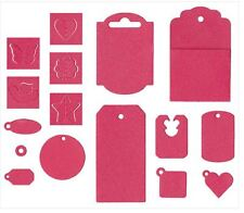 LifeStyle Crafts QuicKutz Cutting Die Set IT KITS ~TAG, 16 Dies + Digital-DG0239