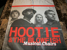 Hootie & the Blowfish Cloth Wall Display Banner Musical Chairs Darius Rucker NEW