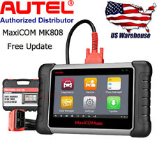 AUTEL MaxiCOM MK808 Auto Diagnostic Tool Key Program DPF SAS Oil Reset For Benz