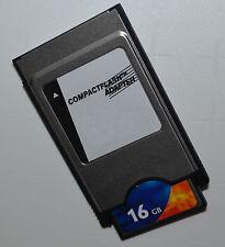 PCMCIA ADAPTADOR COMPACT FLASH 16GB para COMAND APS C197 W212 W204 W221 W207