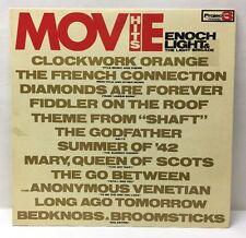 Movie Hits Enoch Light & The Light Brigade Clockwork Orange Pr 5063Sd Lp Record