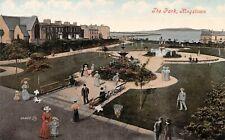 Postcard, Kingstown Dún Laoghaire Co Dublin, The Park, Valentine Unposted