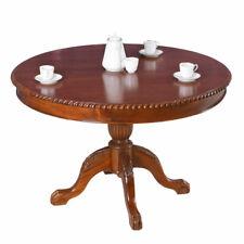 Table Rond Mahagonitisch à Manger Bois Massif de Salle à Cuisine Antique