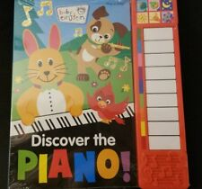Baby Einstein Little Piano Board book 3+ New Sealed