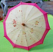 ombrelle ancienne - les vilains petits canards - enfant , poupée