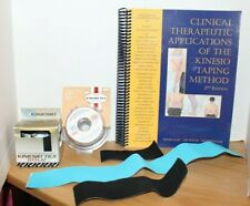 Clinical Therapeutic Applications of the Kinesio Taping Method Book w/BONUS TAPE