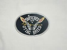 Outlaws MC 1%er SYLO AOA Snitches are a Dying Breed Patch support your local