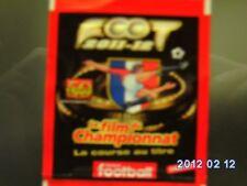 panini foot 2012 pochette v1 a v5 rouge