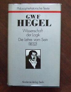 G.W.F.Hegel-Wissenschaft der Logik Band I
