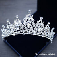 New Bling Bridal Tiara Crystal Birthaday Wedding Crown Princess Diadem