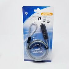 Note Guard Universal Security Cable For NOTEBOOKS, PROJECTORS, LCD SCREENS -NEW