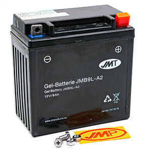 Batterie YB9L-A2 JMT JMB9L-A2 GEL