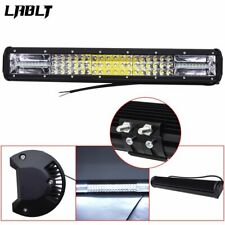 NEW 20'' Inch Quad-row LED Work Light Bar Combo Offroad Driving Lamp Car Trucks