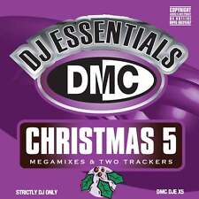 DMC DJ Essentials Christmas 5 Megamixes & 2 Trackers Mixes Remixes CD Xmas