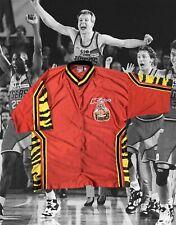 Vintage 90's Melbourne Tigers Nbl Authentics Basketball Button Up Jersey Kmart