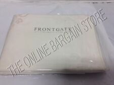 1 Frontgate Luxury Hotel Bed Pillow Sham 1200 Thread Count Euro Square Ivory