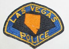 Very Old LAS VEGAS POLICE Nevada NV PD Vintage Used Worn patch