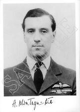 STTF19 RAF signed photo WWII WW2 RAF Battle of Britain pilot MONTAGU-SMITH