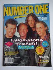 NUMBER ONE UK MUSIC MAGAZINE- 22/11/89 - WET WET WET -JANET JACKSON -OLETA ADAMS