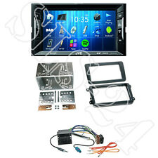 JVC KW-V235DBT Autoradio +VW T5 Multivan Tiguan Touran 2-DIN Blende +Adapter-Set