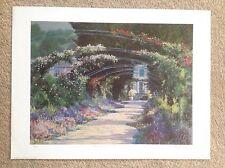 Peter Johnson ' Monet's Garden'
