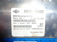 MAN TGX electronic brake system EBS, ECU, 81258087033, KNORR-BREMSE 0486106083