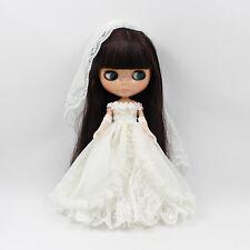 """1pc  12/"""" Blythe Doll Factory  Blythe/'s Simple Pink Dress JS97-7"""