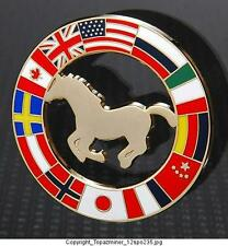OLYMPIC PINS BADGE 2012 LONDON ENGLAND UK  COUNTRY FLAGS & HORSE DESIGN