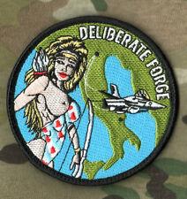 NATO OPERATION DELIBERATE FORCE1995 BOSINA-HERZEGOVINA RoNLAF 313 SQN INSIGNIA